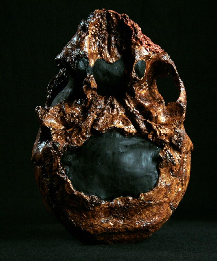 Hominid Skull - Homo neanderthalensis Guattari 1 Neanderthal 1